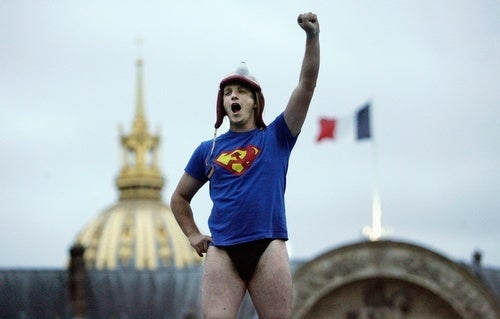 No London, But Definitely France and Underpants