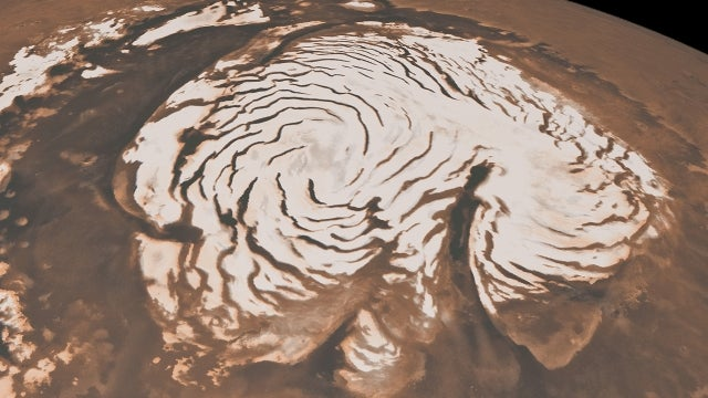Scientists confirm 'dry ice' snowfall on Mars