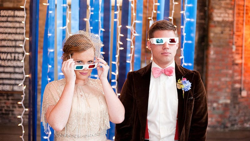Perhaps the most beautiful Doctor Who-inspired wedding shoot in all of time and space
