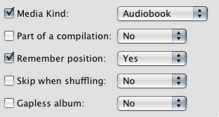 iTunes 8 Makes It Easy to Convert Any File to an Audiobook