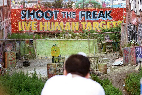 America Loses a National Treasure: Shoot the Freak