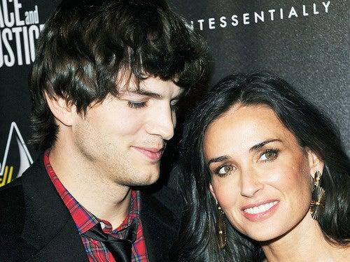 Ashton Kutcher: Tweeting at Your Girlfriend Is Like Sending Her Roses