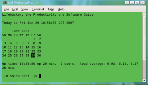 Turbocharge your terminal
