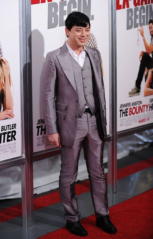 Bounty Hunter Premiere: Draping And Clowning On The Carpet