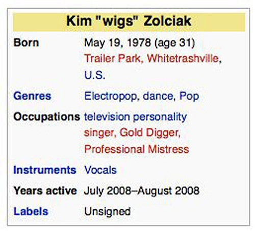 Kim Zolciak's Wikipedia Page Got Hacked