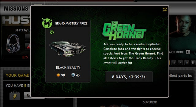 Mafia Wars Feels The Sting Of The Green Hornet