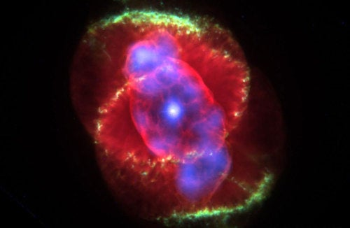 The Strangely Bright Stare Of The Cat's Eye In Space