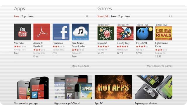 Windows Phone Finally Has a Web Marketplace