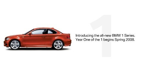 BMW 1-Series Coming to US Spring 2008