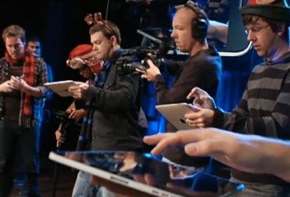 Rockin' Around the Christmas Tree, With iPads