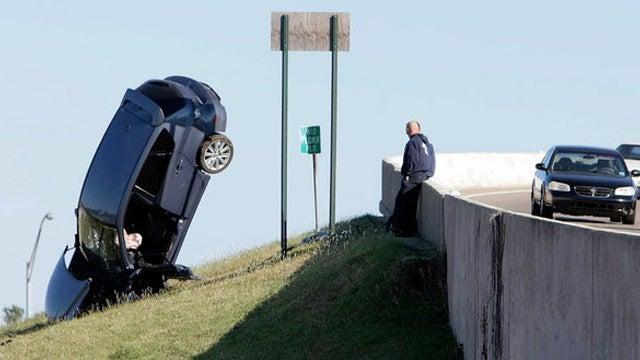 Teenager in Mazdaspeed3 sticks the landing