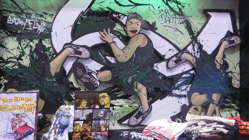 The Fine Art at NYCC 2013: Robots, Ninjas, and Anime Breakdancers