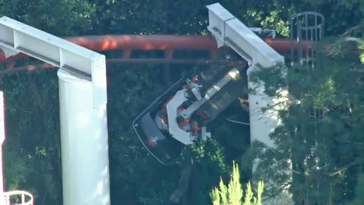 Dozens of People Were Trapped on a Six Flags Roller Coaster