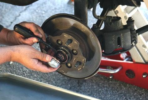 Replace Wheel Bearings