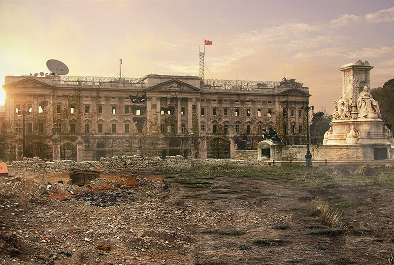 This Is What Famous Landmarks Would Look Like After A Global Disaster
