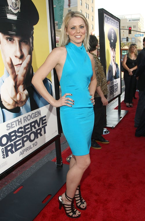 We Observe, Report Bad Clothes At Comedy Premiere