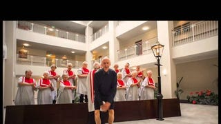 Retirees Make Their Perfect Own Recreation of Pharrell's 'Happy' Video
