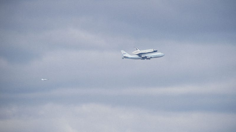 Here's Video of Space Shuttle Enterprise Flying Over NYC