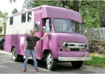 Hipster's Purple-Truck Home Hijacked