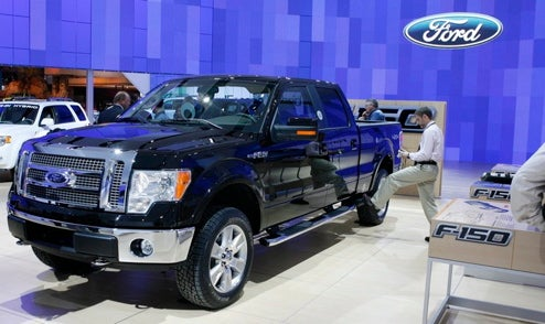 2009 Ford F-150 Release Postponed Two Months, Truck Production Cut
