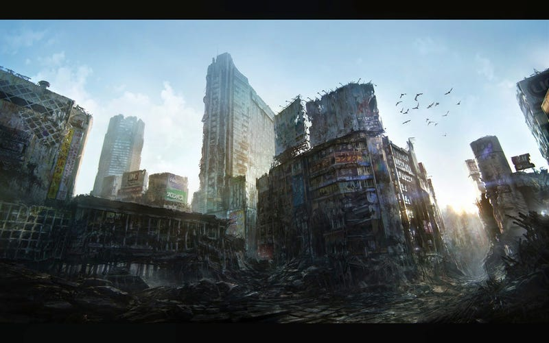 Explore the Trashed Magnificence of Dystopia in these Wallpapers