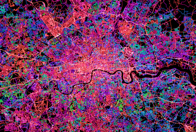 Every OpenStreetMap Edit Ever Made, Visualized