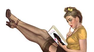 Belenéztem egy lapozgatós szexkönyvbe. Egy női lapozgatós szexkönyvbe