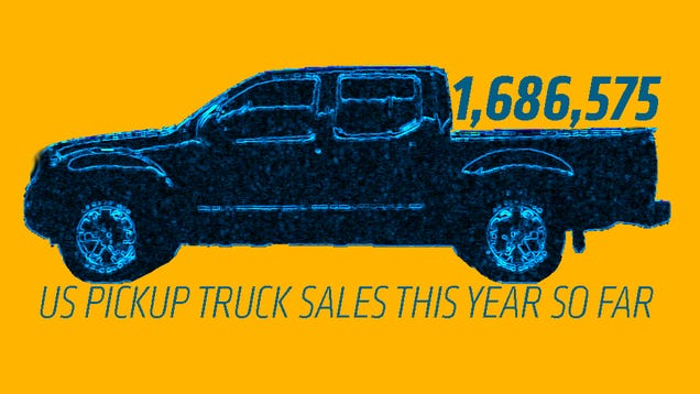 Two Brands Benefitted While Overall Pickup Truck Sales Dropped