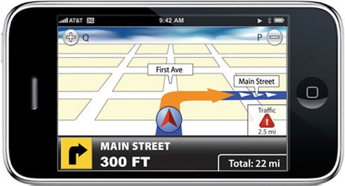 TeleNav Confirms iPhone In-Car Navigation App