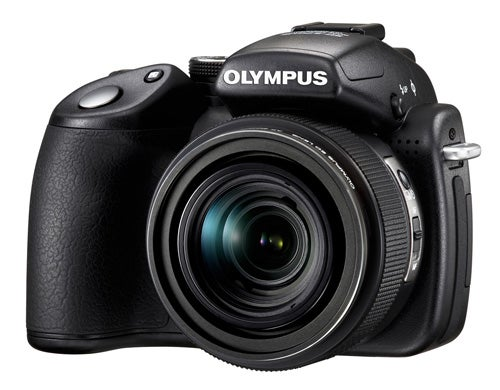 Olympus SP-570 Prosumer Cam Has Everything: 20x Zoom, Wide-Angle and Macro Photography