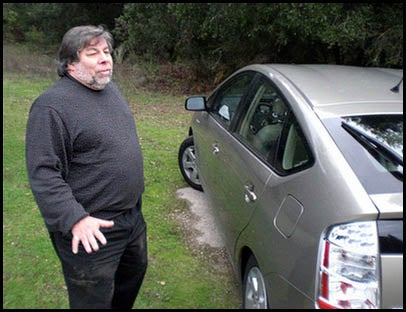 Toyota To Borrow, Test Steve Wozniak's Prius For A Week