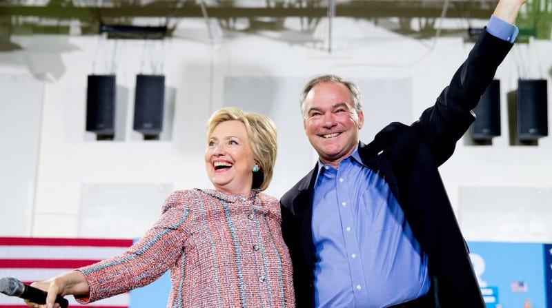 Hillary Clinton Selects Virginia Senator Tim Kaine As Her Running Mate