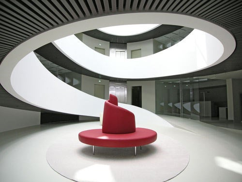 Office Building Or Home To A Super Heroine?