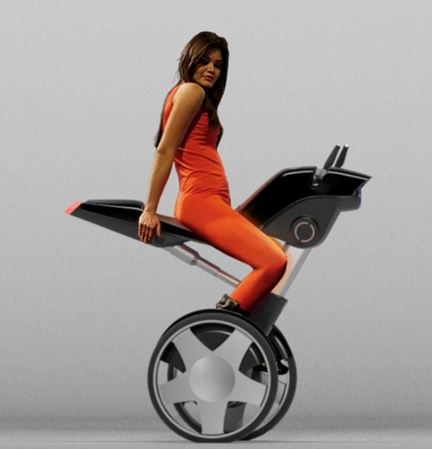 You Know What Segways Need? Saddles
