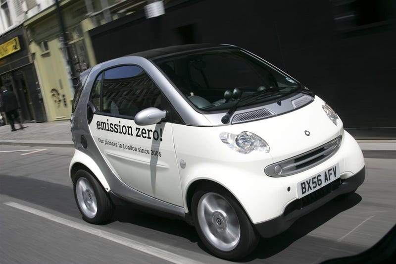 Smart ForTwo EV Going On Sale In UK, Testing In Other Euro Cities