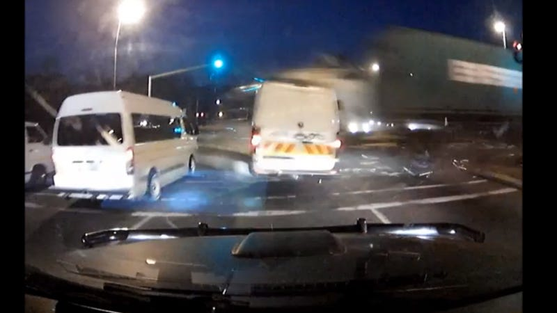 Dashcam Captures Terrifying Truck Crash That Killed 27 In South Africa