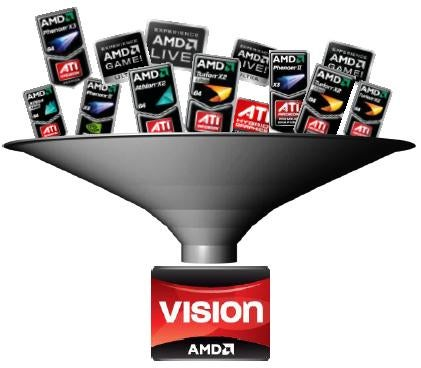 AMD Vision Takes Complicated Processor Stickers off Laptops…Kinda