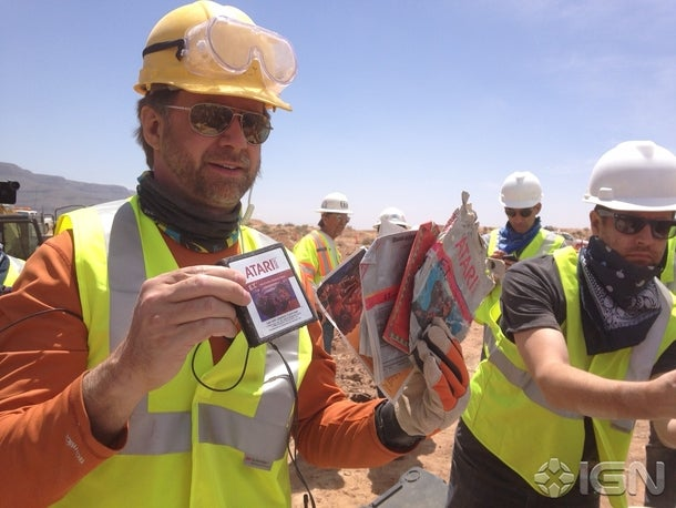 The Legends Were True: Copies of Atari's E.T. Unearthed in NM