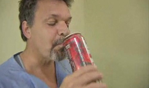 Local Politician Demonstrates Evils of Four Loko By Drinking It on TV, and Vomiting