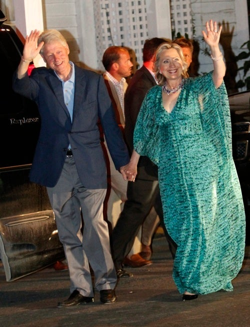 Scoring Sunday's Nuptials: Bill Clinton and Homer Simpson Say So Long to Their Little Girls