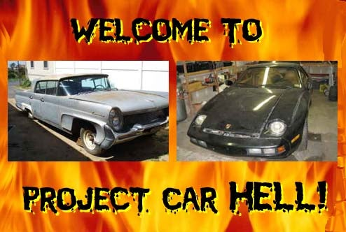 Project Car Hell: Porsche 928 or '58 Lincoln Continental?