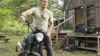Chris Pratt's Awesome Motorcycle In <i>Jurassic World</i> Is A Triumph Scrambler