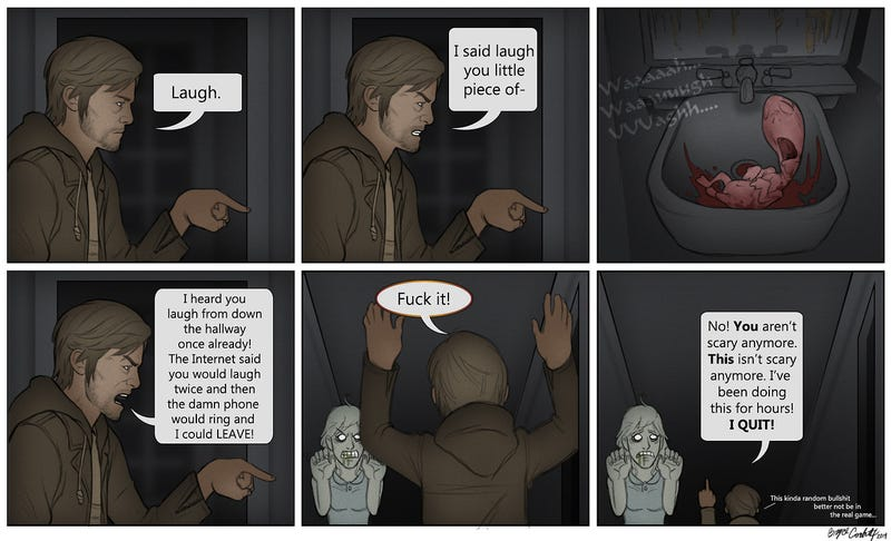 The Silent Hills Playable Trailer Can Be A Little Frustrating