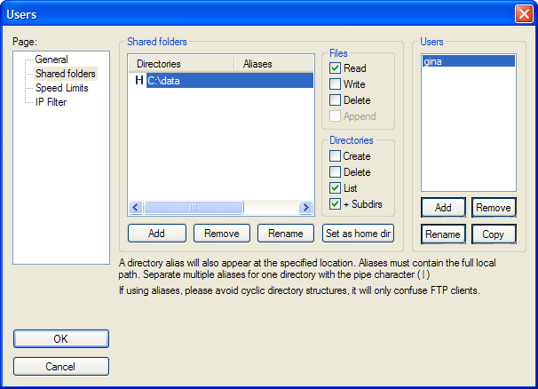 Build a Home FTP Server with FileZilla