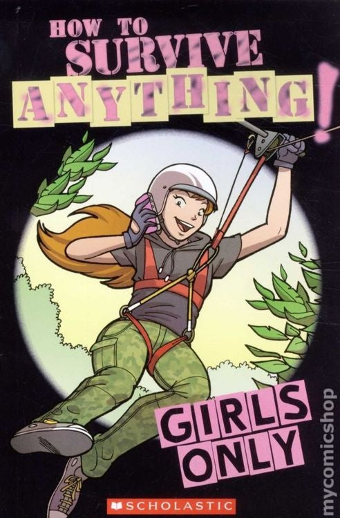 Scholastic Gives Boys 'Survival' Tips and Girls 'Girly' Tips
