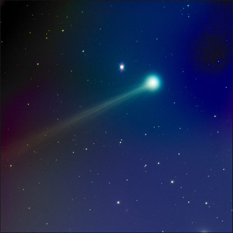 Comet ISON's photo is so good it's almost unreal