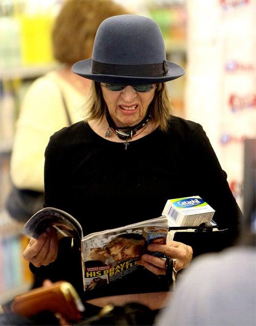 Diane Keaton Hates People