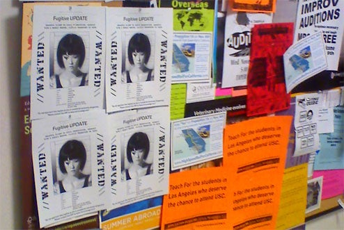 "Mirror's Edge ""Wanted"" Posters Pop Up At Universities"