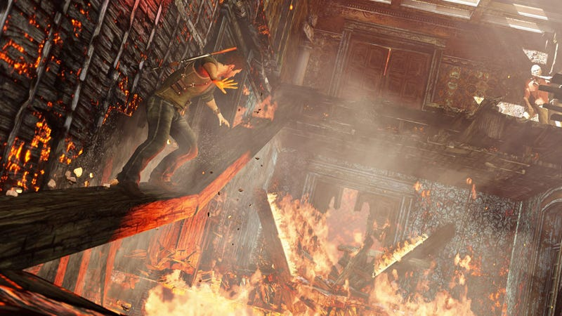 The Amazing Fire Of Uncharted 3