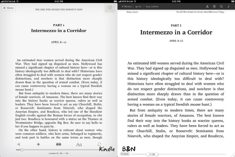 Barnes & Noble's iPad App: The iPad Ebook War Just Got Real(er)